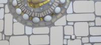 gedenkteken schelp detail