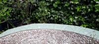 kiezelmozaiek muurtjes-pebble mosaic