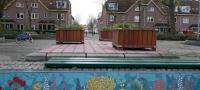 lupineplein-mozaiekmuurtje klaar