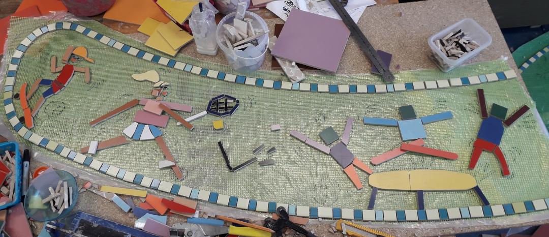 agatha-snellenschool-mozaiektafel-voorbereiding